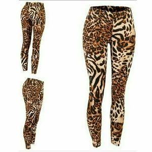 Pants - Super Soft Animal print leggings - NWT, size Small